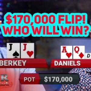 Let's Flip for $170,000! Matt Berkey vs Jake Daniel on Poker After Dark