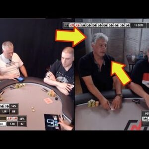 Poker Time: Bluffing the Heartthrob