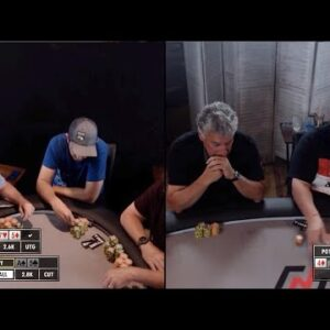 Poker Time: Sick River Card Takes Maniac from Zero to Hero!