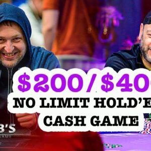 Rob's Home Game   $200/$400 Texas Hold'em Cash Game
