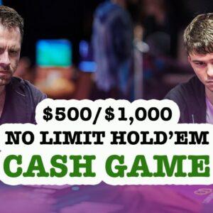 Super High Roller Bowl Europe Series | $500/$1,000 Texas Hold'em Cash Game