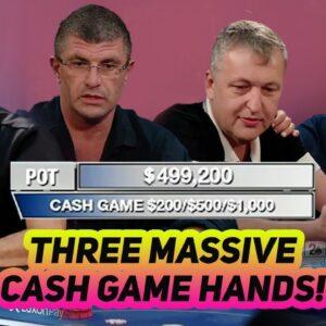 Tony G, Leon Tsoukernik, Rob Yong & Paul Phua Clash in Three Huge Cash Game Pots!