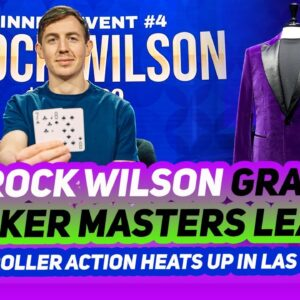 High Stakes Poker Final Table Tournament Action From Las Vegas! | 2021 Poker Masters
