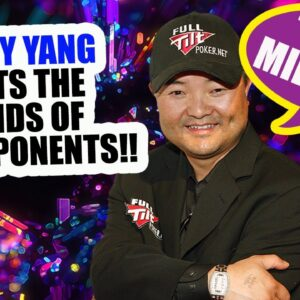 The Incredible Run That Brought Jerry Yang $8,250,000 And The WSOP Main Event Gold Bracelet!