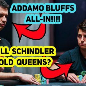 $300,000 Buy-In Poker Tournament: All-in Bluff vs Pocket Queens