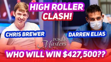 Can Darren Elias Claim Another Major Win at the 2021 Poker Masters?