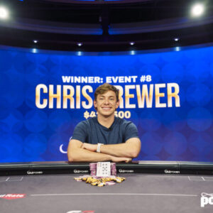 chris brewer scores career high cash in poker masters event 8 win