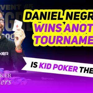 Daniel Negreanu Crushes Poker Masters Final Table!