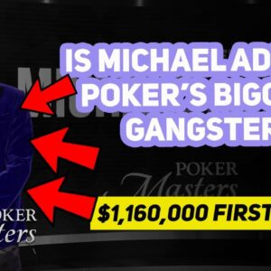 Michael Addamo Destroys $100,000 Poker Masters Final Table in Just 19 Hands!