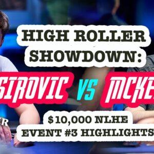 Joe McKeehen vs Ali Imsirovic U.S. Poker Open Showdown!