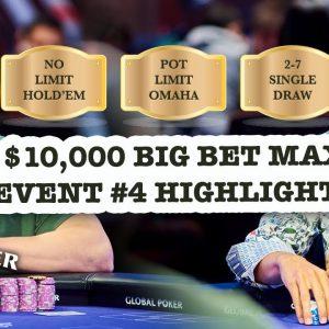 Alex Foxen & Sean Perry Headline $10,000 Big Bet Mix Final Table Highlights!
