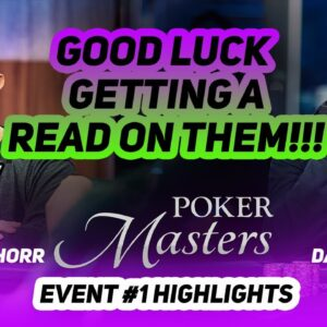 Texas Hold'em Heavyweights David Peters & Shannon Shorr Battle at 2021 Poker Masters