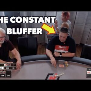 Poker Time: Danny Tries Back to Back Bluffs Against Ken, the Destroyer of Worlds