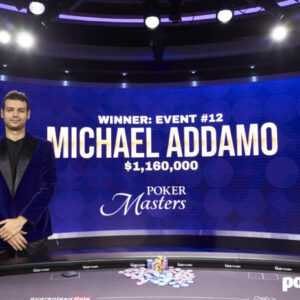 michael addamo goes back to back wins poker masters finale for 1 16m