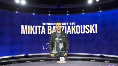 mikita badziakouski tops 2021 poker masters event 10 for 342000