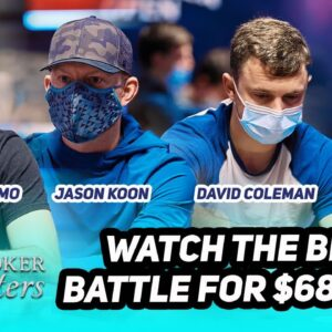 High Roller Superstar Clash Headlined by Jason Koon at $50,000 Poker Masters Event