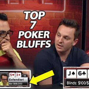THE BEST POKER BLUFFS | Season 8 Episode 17 | Poker Night in America