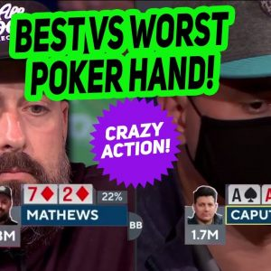 Aces vs Seven-Deuce at World Series of Poker Final Table!
