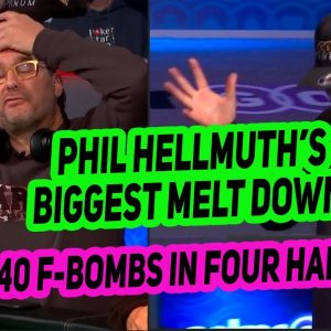 Phil Hellmuth Loses His Mind Like You've Never Seen Before at the 2021 World Series of Poker
