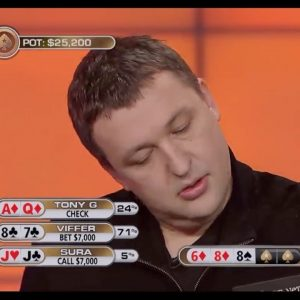 Poker Breakdown: Is This The Most Astonishing Tony G Fold Ever?