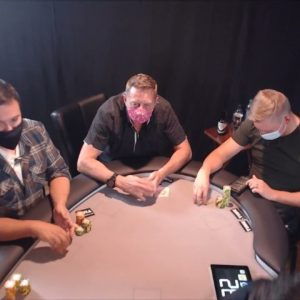 Poker Time: Action Aaron Living Up to His Name! ($5/10/20 cash game)